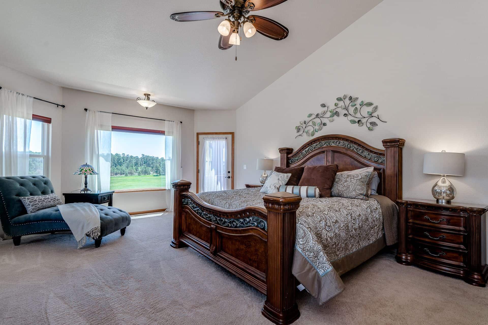 Walk-Out Master Bedroom