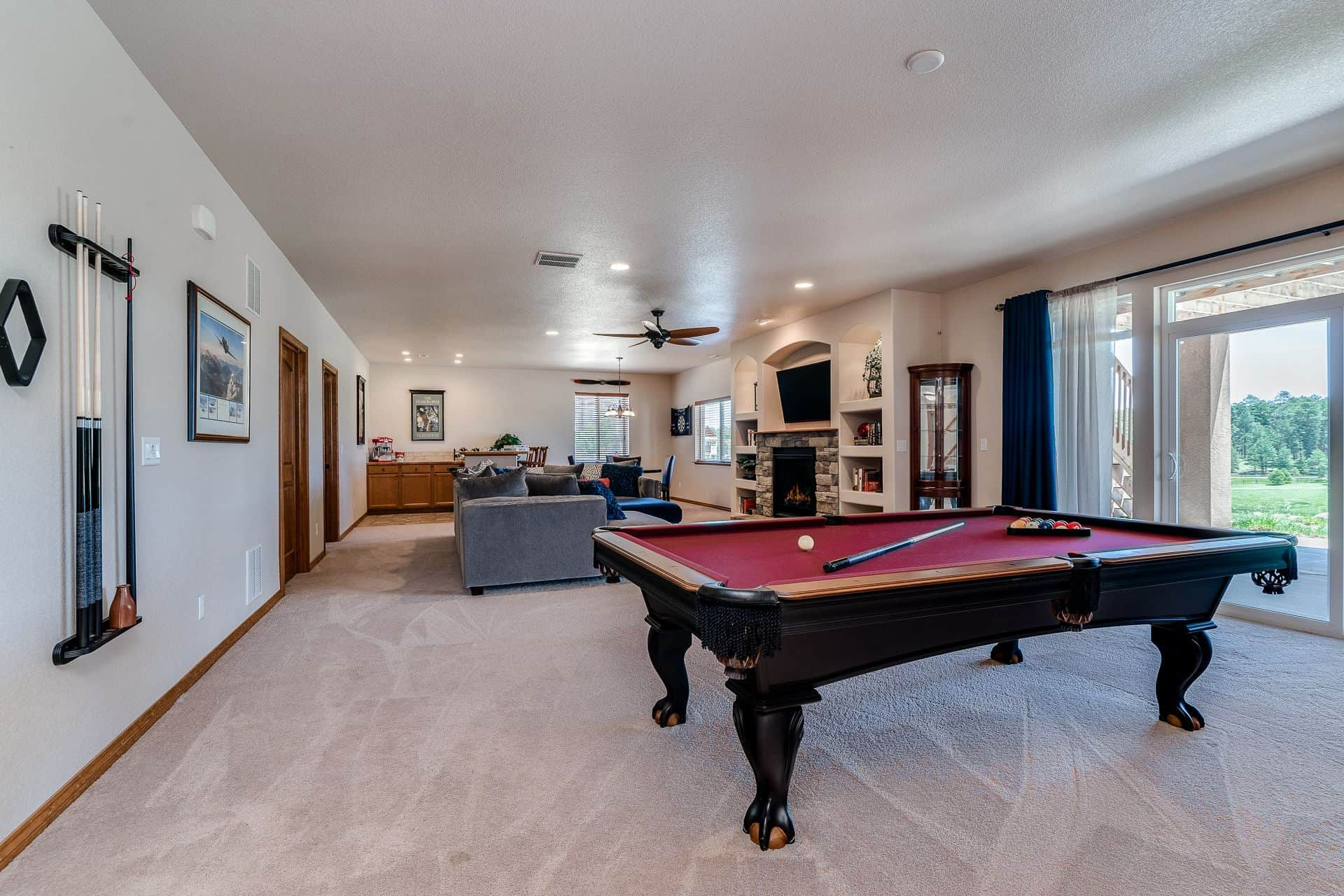 Walk-Out Basement Family Room/Rec Room
