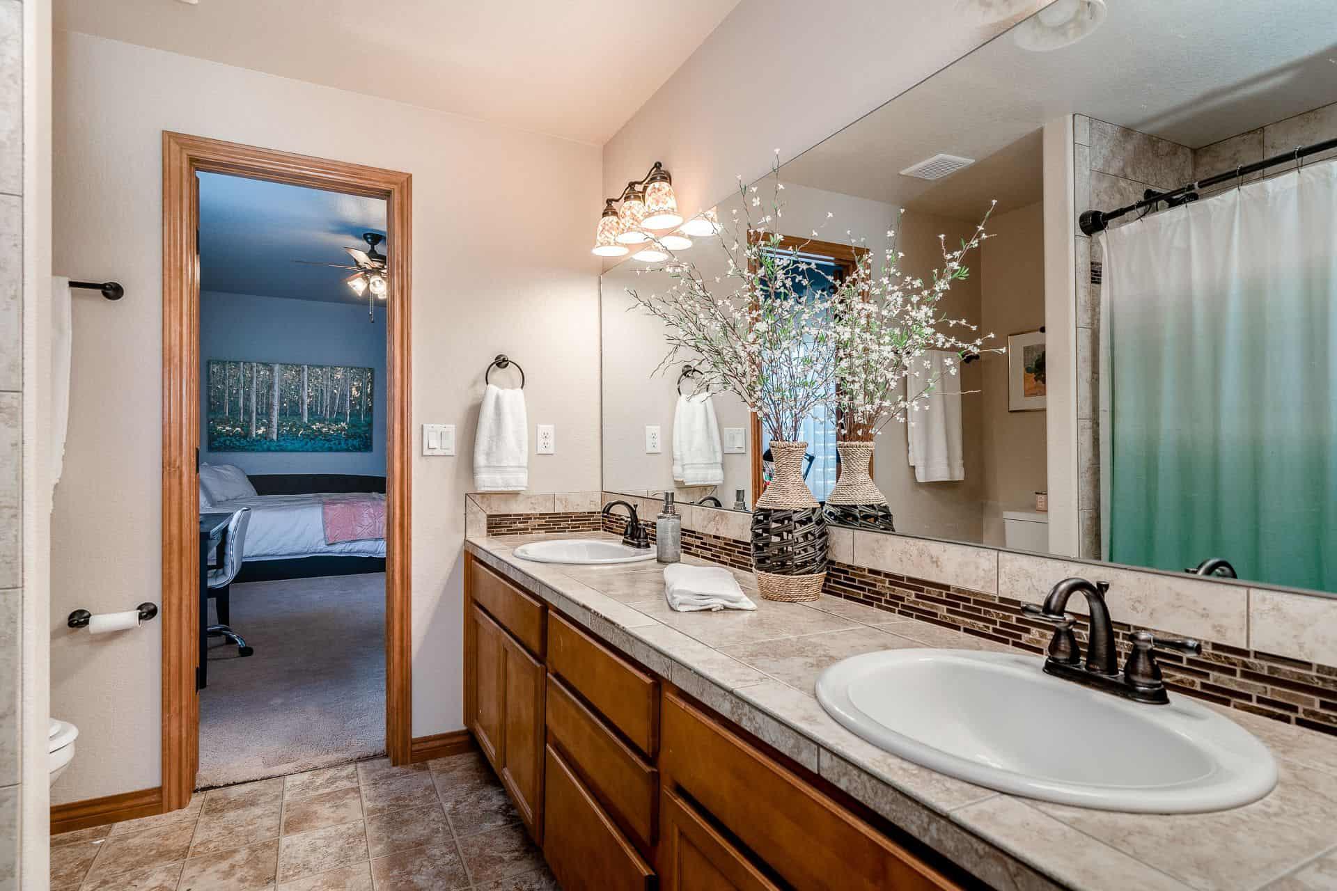 Basement Jack N Jill Bathroom