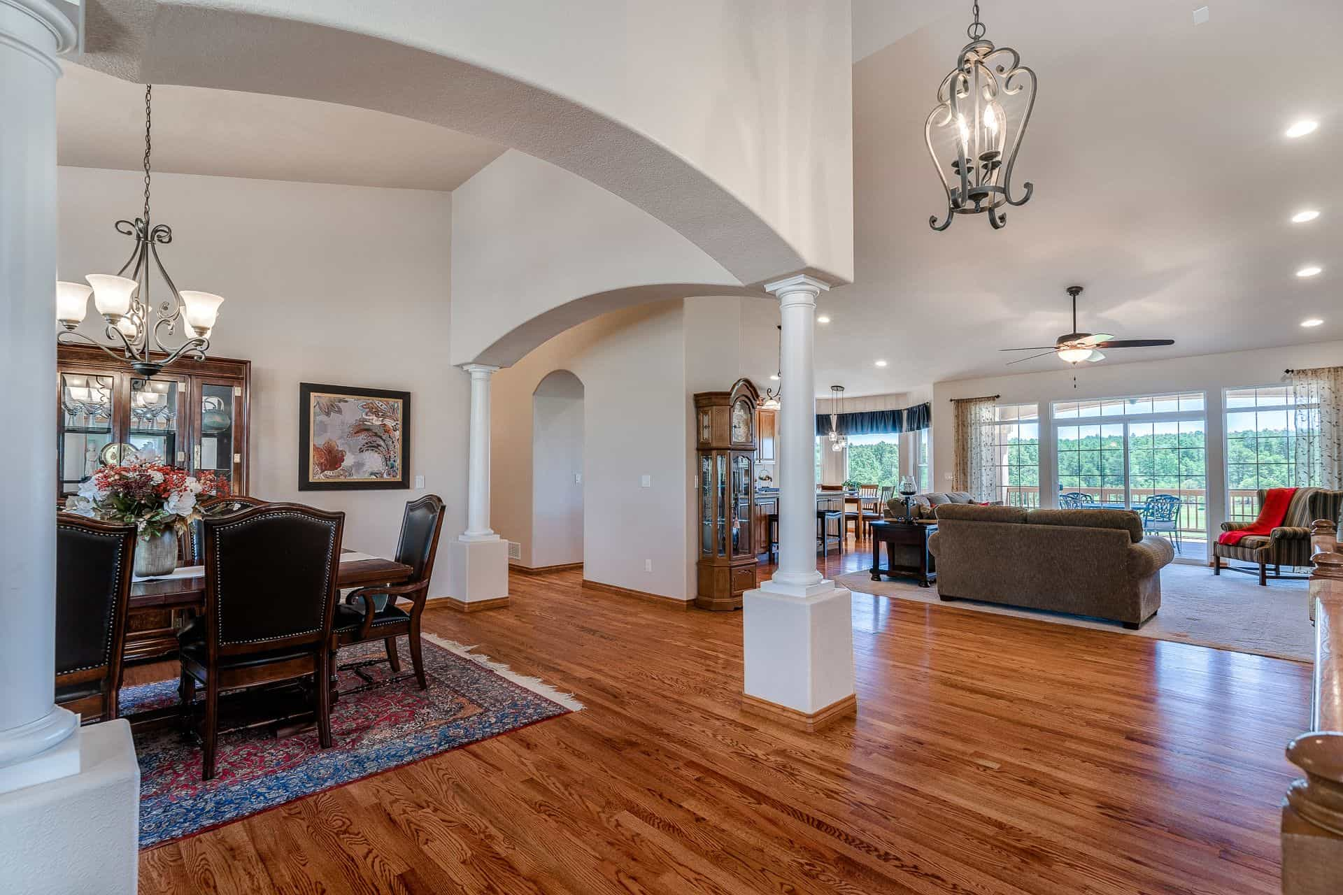 Dining Room, Great Room, Nook